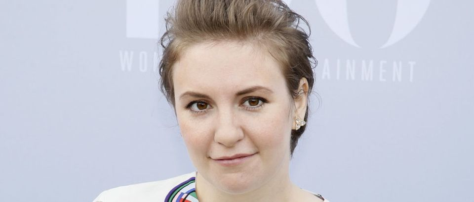 Actress Lena Dunham poses at The Hollywood Reporter's Annual Women in Entertainment Breakfast in Los Angeles, California December 9, 2015. REUTERS/Danny Moloshok