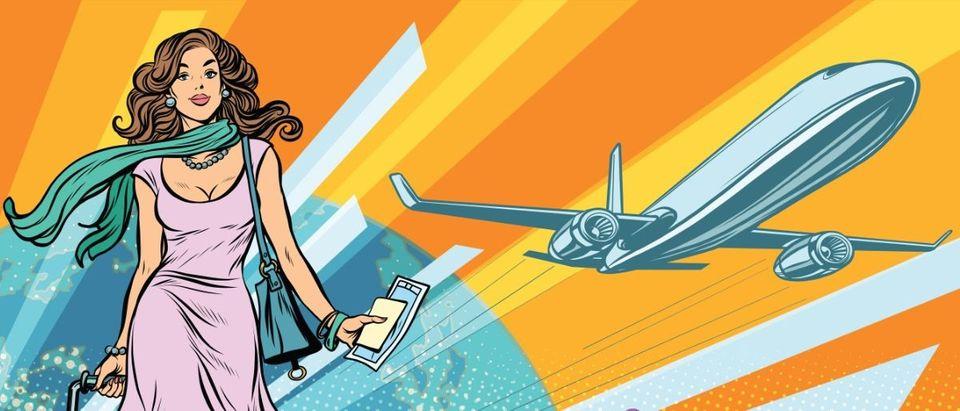 vintage airplane travel Shutterstock/studiostoks