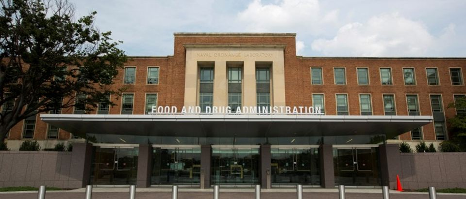FILE PHOTO: A view shows the U.S. Food and Drug Administration headquarters in Silver Spring