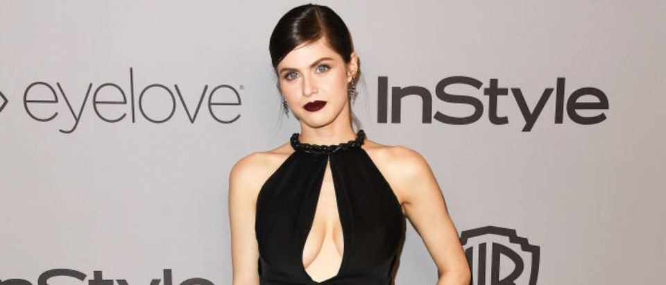 Actor Alexandra Daddario attends 19th Annual Post-Golden Globes Party hosted by Warner Bros. Pictures and InStyle at The Beverly Hilton Hotel on January 7, 2018 in Beverly Hills, California. (Photo by Frazer Harrison/Getty Images)