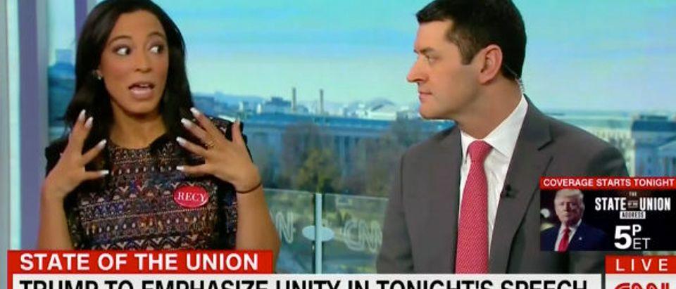 Angela Rye CNN screenshot