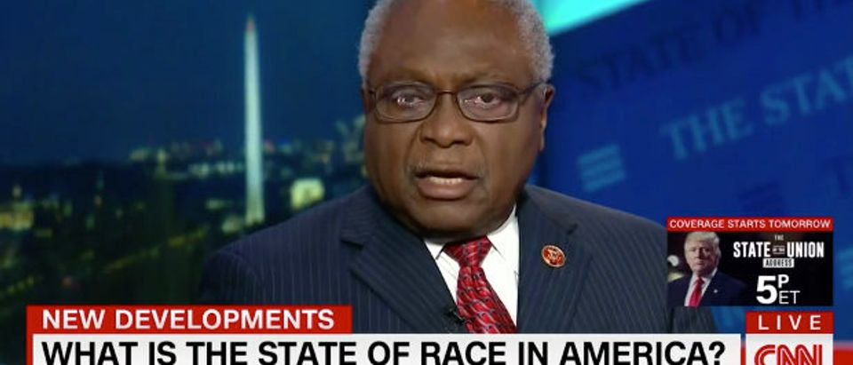 Clyburn CNN screenshot