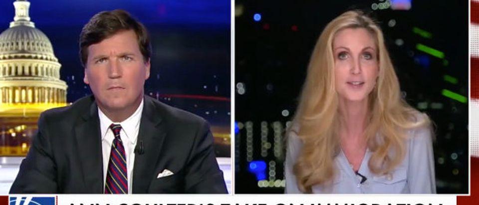 Coulter Fox News screenshot