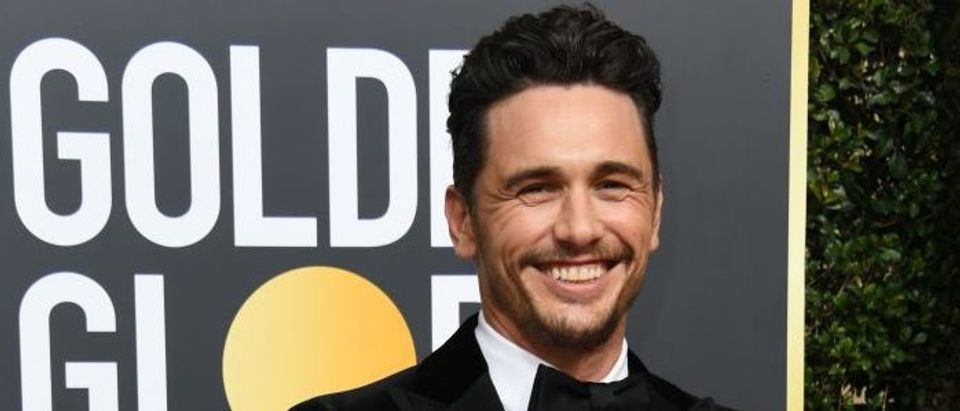 Actor James Franco arrives for the 75th Golden Globe Awards on January 7, 2018, in Beverly Hills, California. (Photo: VALERIE MACON/AFP/Getty Images)