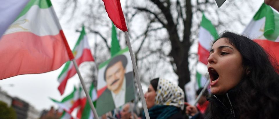 Iran protest AFP/Getty Images/Ben Stansall