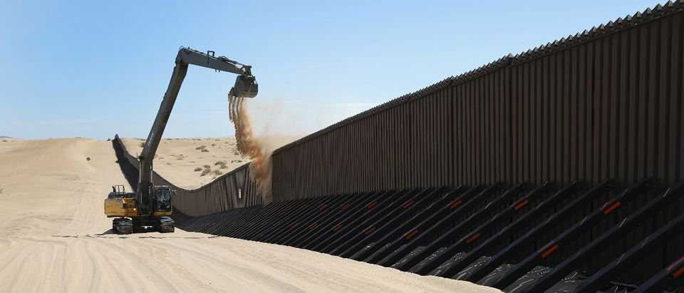 Mexico border wall immigration Getty Images/John Moore