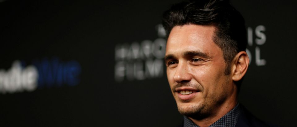 James Franco poses at the inaugural IndieWire Honors in Los Angeles