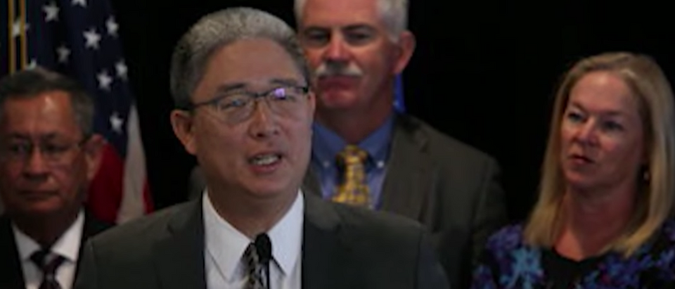 Justice Department official Bruce Ohr. (YouTube screen grab)