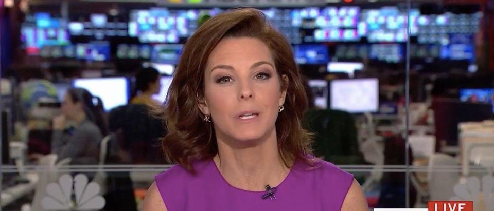 Screen Shot Stephanie Ruhle (MSNBC: Jan 12, 2018)