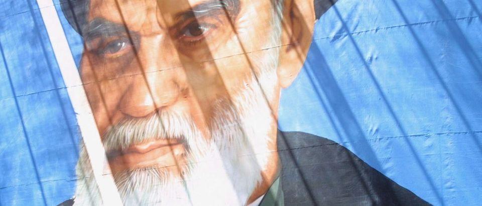 ayatollah khomeini AFP/Getty Images/Behrouz Mehri