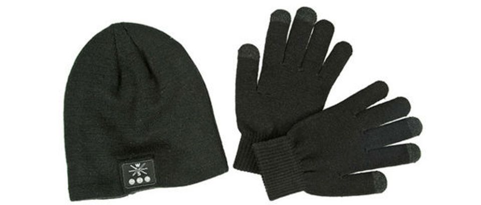 Normally $50, this bluetooth beanie with touchscreen gloves is 54 percent off
