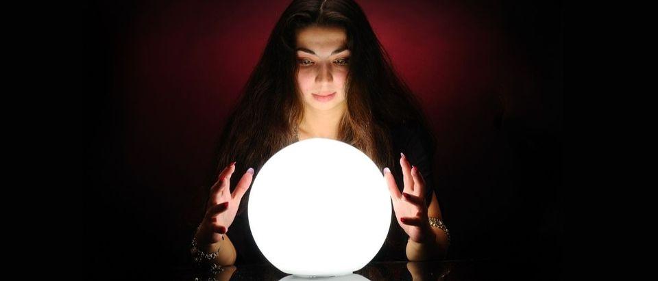 crystal ball fortune teller Shutterstock/Sergey Mironov
