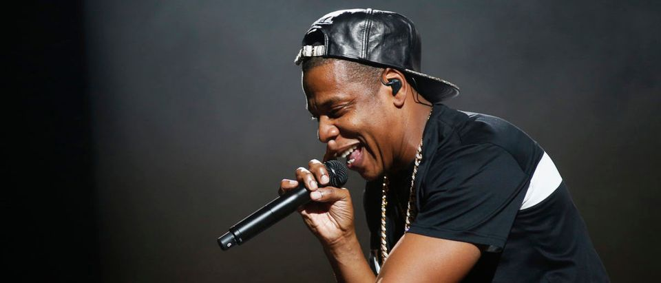 American rapper Jay-Z performs at Bercy stadium in Paris, October 17, 2013. REUTERS/Benoit Tessier