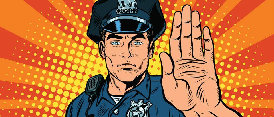 police pop art Shutterstock/studiostoks