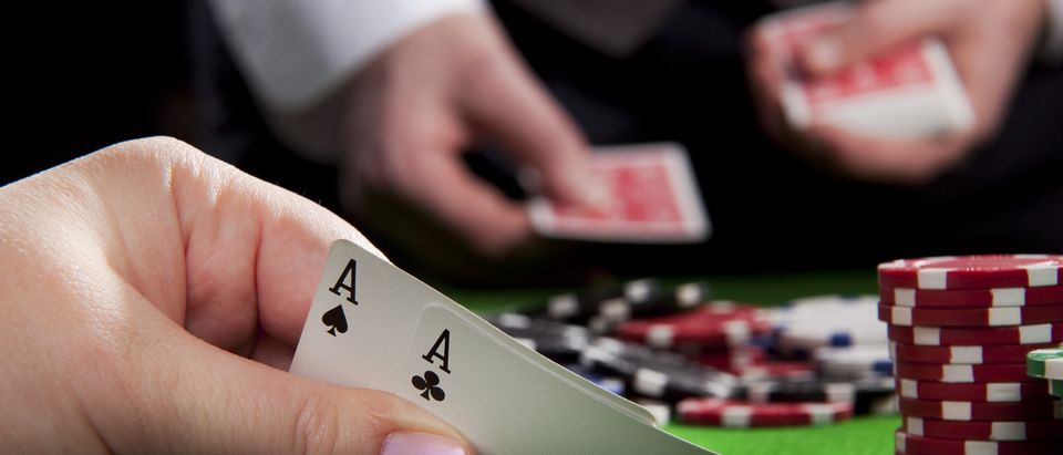 Texas Hold'em (Photo via Shutterstock)