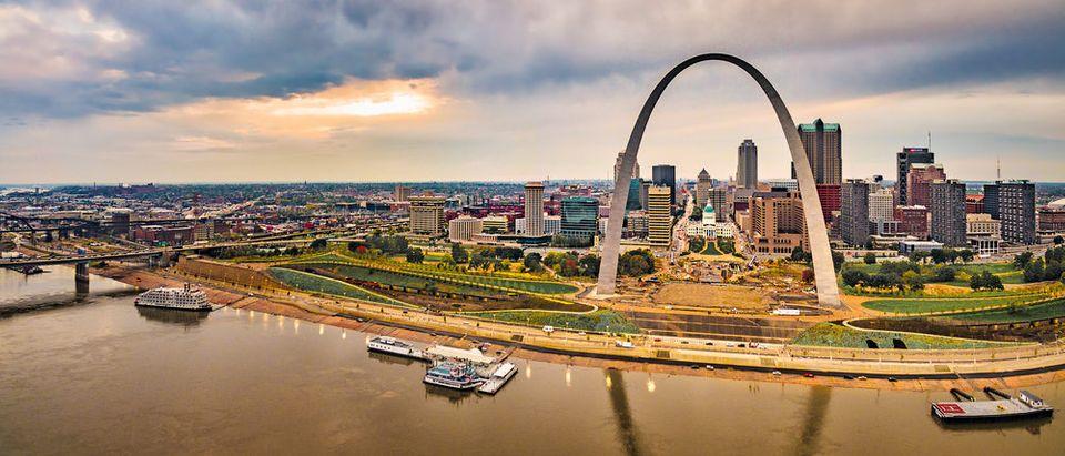 St Louis, Missouri (Photo via Shutterstock)