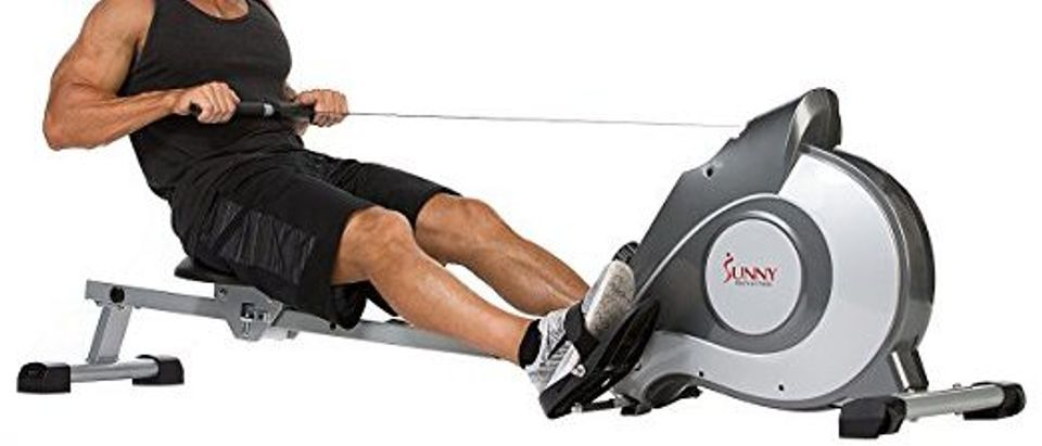 Normally $400, this rower is 58 percent off today (Photo via Amazon)