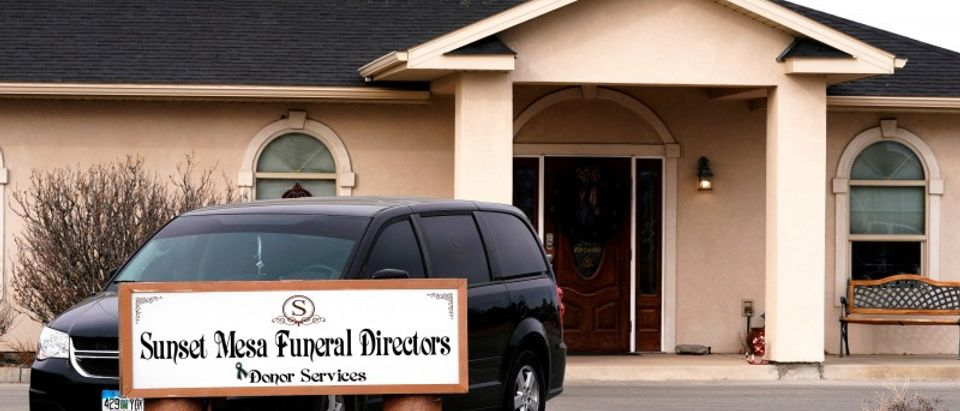 FILE PHOTO: The Sunset Mesa Funeral Directors and Donor Services building in Montrose