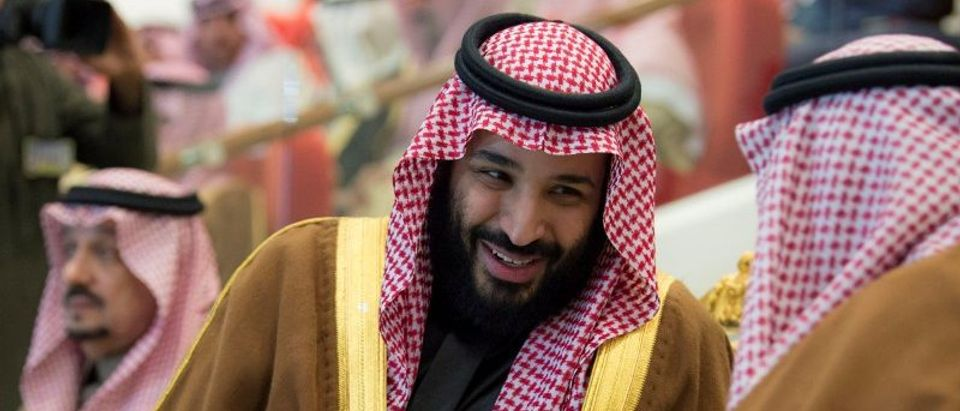 FILE PHOTO: Saudi Arabia's Crown Prince Mohammed Bin Salman attends the Annual Horse Race ceremony, in Riyadh
