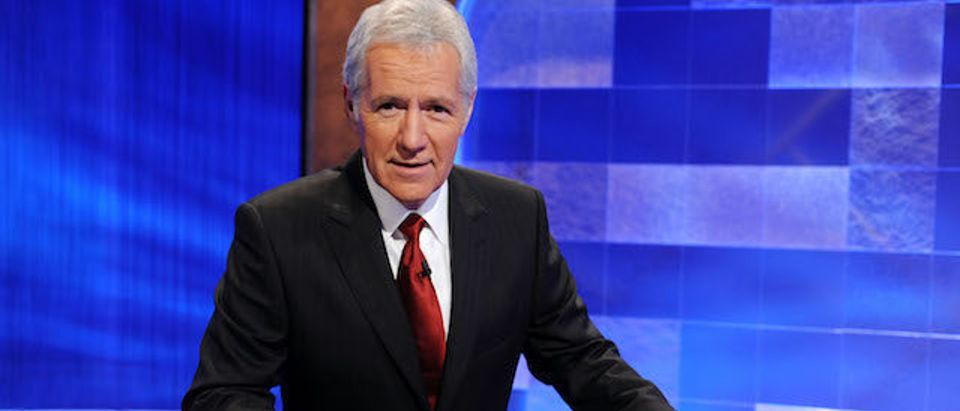 Alex Trebek on April 17, 2010 in Culver City, California. (Photo: Getty Images)