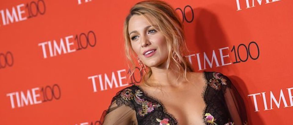Blake Lively attends the 2017 Time 100 Gala at Jazz at Lincoln Center on April 25, 2017 in New York City. (Photo: ANGELA WEISS/AFP/Getty Images)