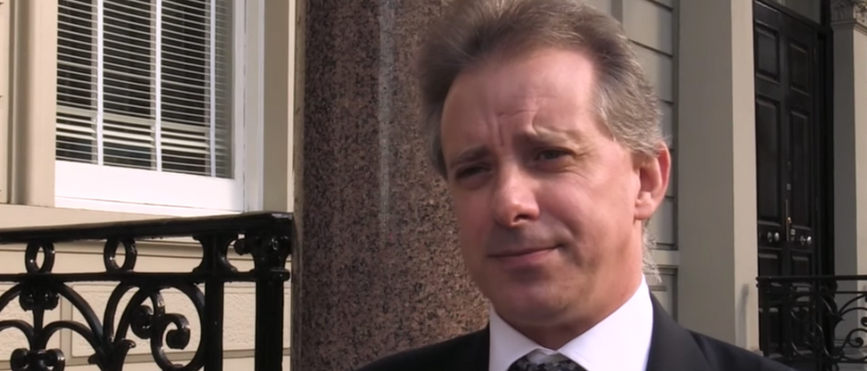 Former British spy Christopher Steele wrote the Steele dossier. (YouTube screen capture/CBS News)