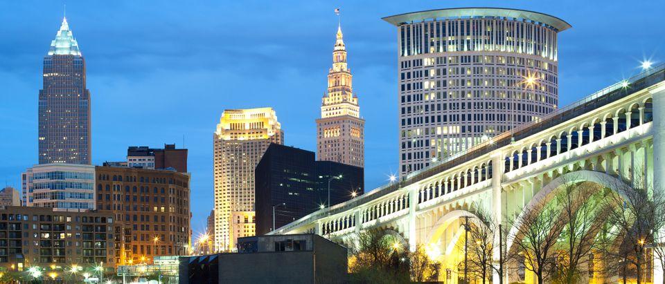 Cleveland, Ohio (Photo credit: Jose Luis Stephens/Shutterstock)