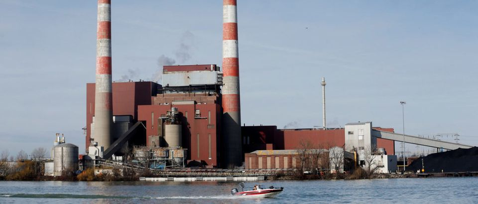 The Trenton Channel Power Plant, a coal-fired electricity plant operated by DTE Energy, is seen in Trenton south of Detroit, Michigan, U.S. April 2, 2017. Picture taken April 2, 2017. REUTERS/Rebecca Cook | North Dakota Secured The Future Of Coal