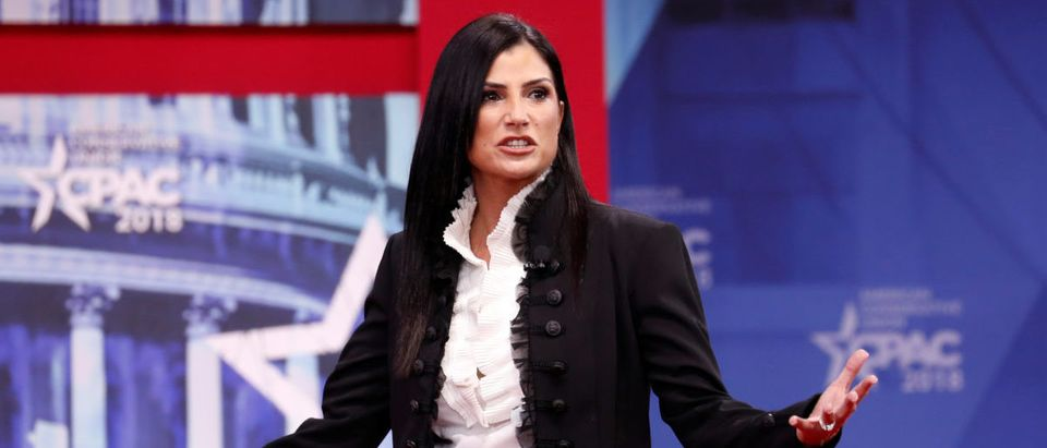 NRA spokeswoman Dana Loesch speaks at the Conservative Political Action Conference (CPAC). February 22, 2018. REUTERS/Kevin Lamarque