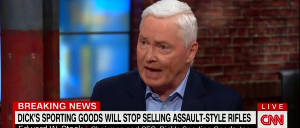 Dick's Sporting Good CEO Genuflects Before Chris Cuomo And The Alter Of Gun Control With Massive Capitulation 2-28-18