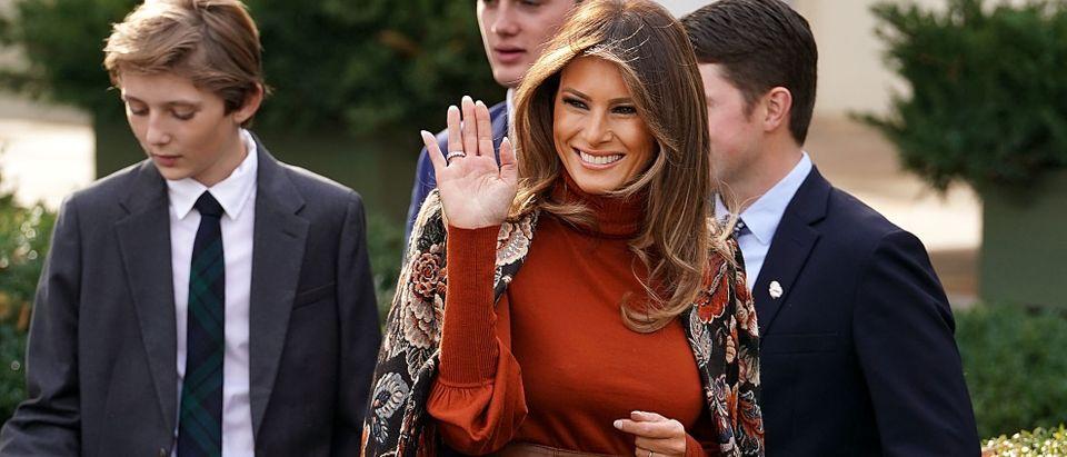 Melania Trump 2017– Present (Photo: Getty)