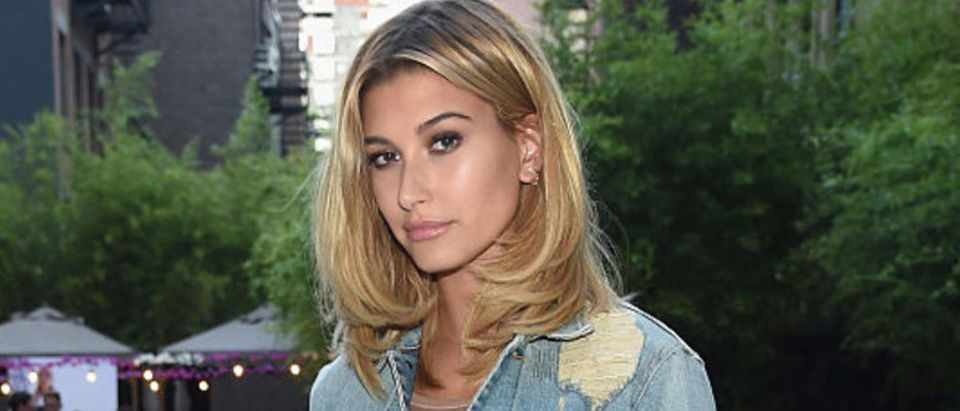 NEW YORK, NY - AUGUST 23: Introducing Hailey Baldwin for UGG Classic Street on August 23, 2016 in New York City. (Photo by Jamie McCarthy/Getty Images for UGG)