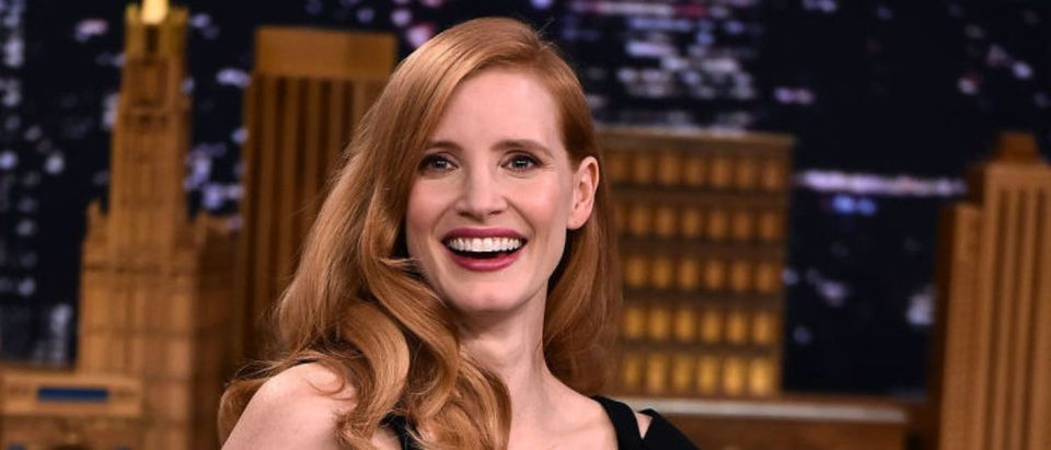 "Jessica Chastain Visits ""The Tonight Show Starring Jimmy Fallon"""
