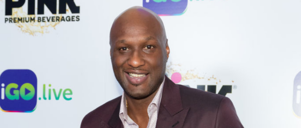 BEVERLY HILLS, CALIFORNIA - JULY 26: Former NBA Player Lamar Odom arrives for the iGo.live Launch Event at the Beverly Wilshire Four Seasons Hotel on July 26, 2017 in Beverly Hills, California. (Photo by Greg Doherty/Getty Images)