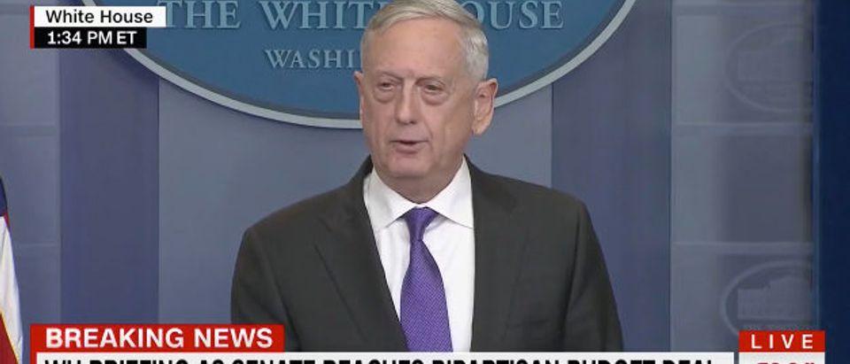 Mattis CNN screenshot