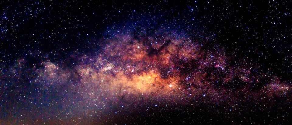 The Milky Way Galaxy. Shutterstock