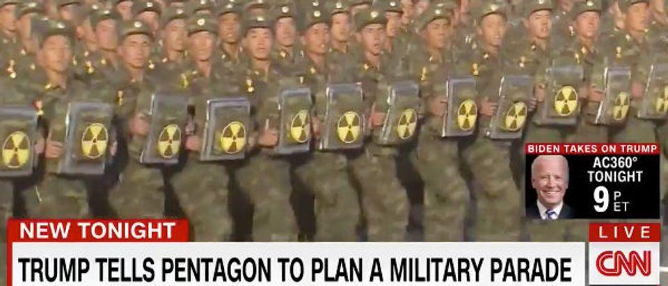 North Korea CNN screenshot