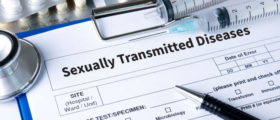 STD form (Credit: Shutterstock)