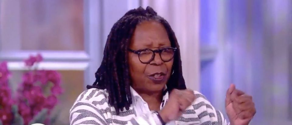 Screen Shot Whoopi Goldberg Interrupts Meghan McCain
