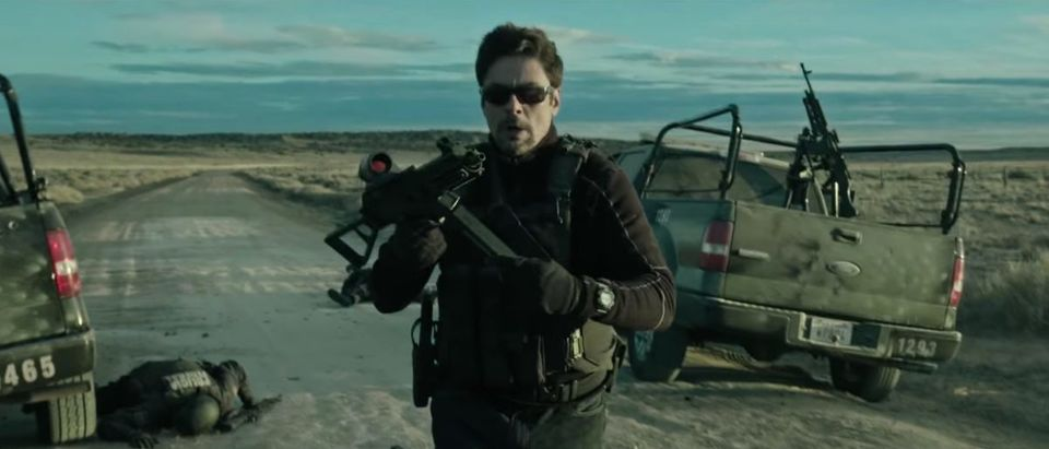 Sicario (Credit: Screenshot/YouTube Sony Pictures Entertainment)
