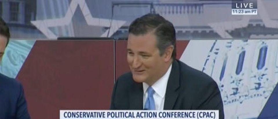 Ted Cruz CPAC CSPAN screenshot