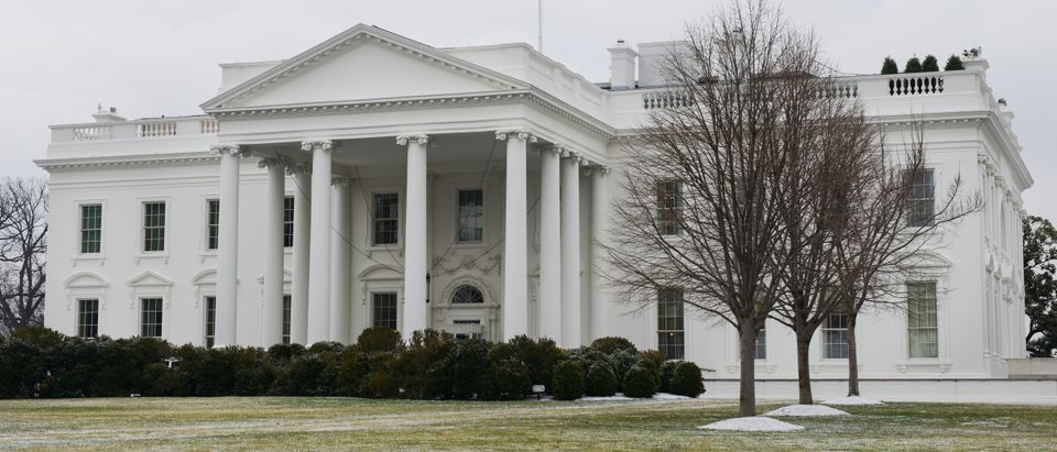 A cloudy day at the White House - Shutterstock