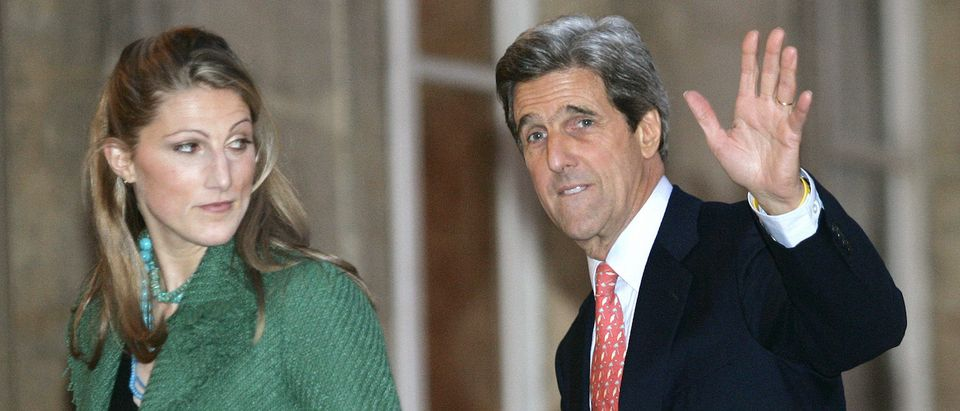 John Kerry and his daughter Vanessa Kerry
