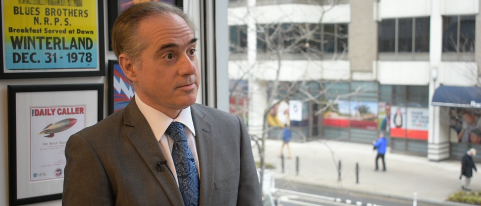 VA Secretary David Shulkin at TheDCNF's offices February 16, 2018/TheDCNF photo | Inside The Dying Days Of Shulkin's VA