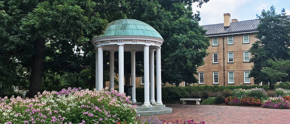 Old Well, University of North Carolina, Chapel Hill (Photo via Shutterstock)