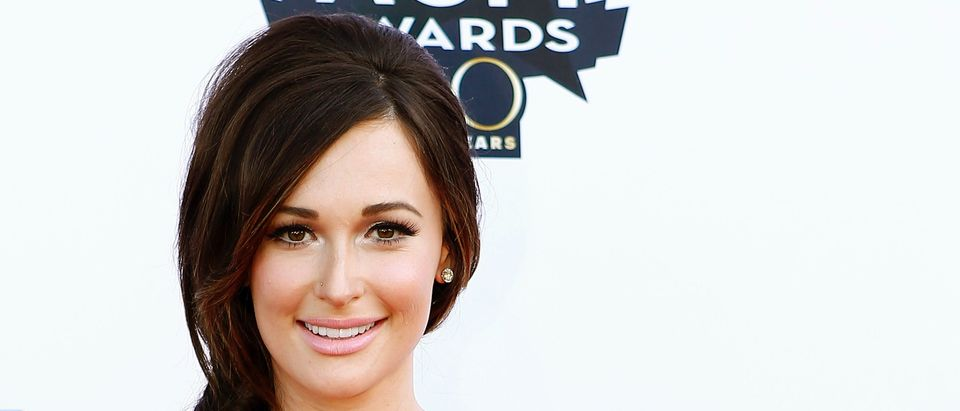 Kasey Musgraves arrives at the 50th Annual Academy of Country Music Awards in Arlington