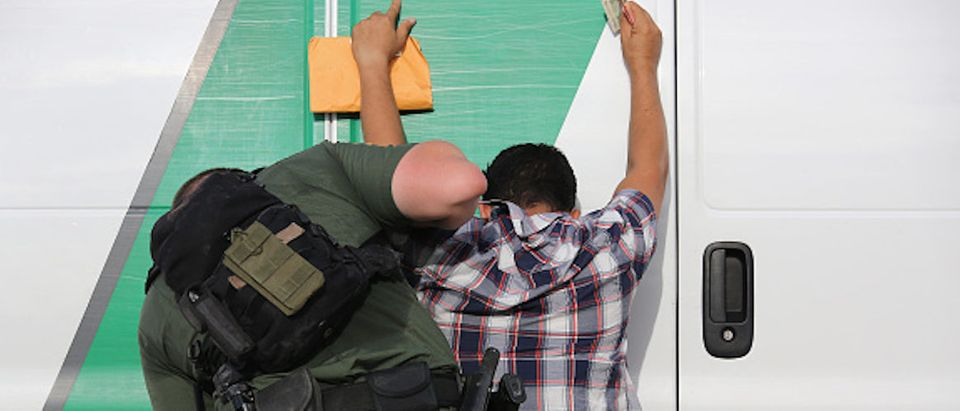 U.S. Border Agents Pursue Human And Drug Smugglers Near Mexican Border