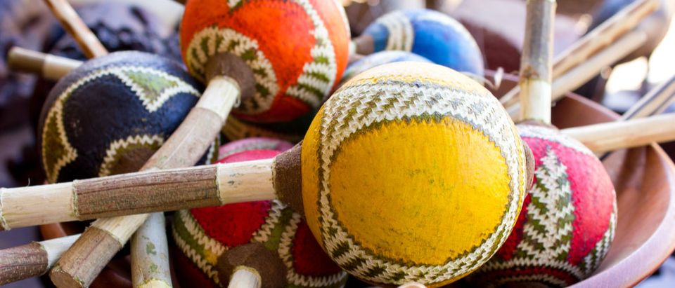 African arts and crafts at an African craft market Shutterstock/ Anneke Swanepoel | School Uses 'Africentric Math'