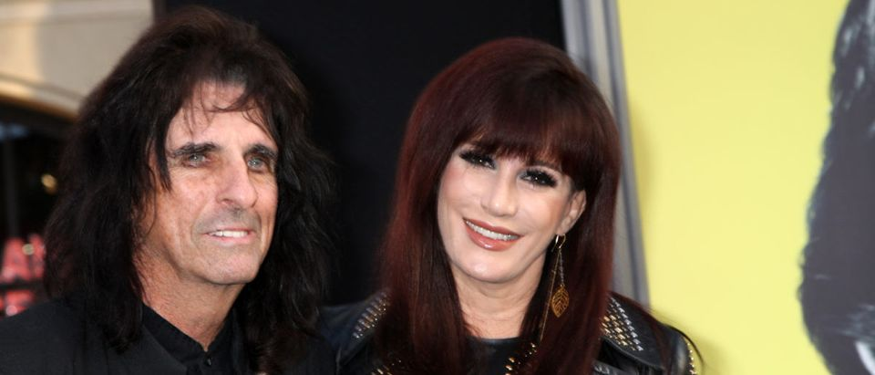 Alice Cooper arrives at the Dark Shadows - Los Angeles Premiere at Graumans Chinese Theater. (Photo: ShutterStock Kathy Hutchins)