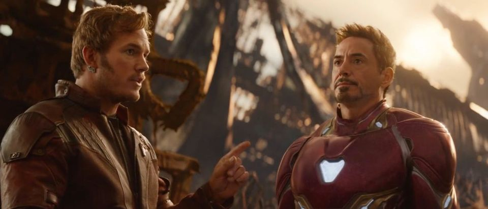 Avengers: Infinity War (Credit: Screenshot/YouTube Marvel Entertainment)